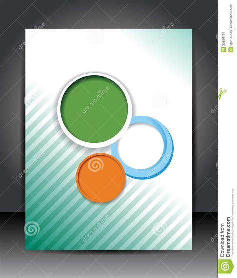 layout cover photo magazine cover stock illustration image of document