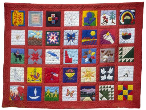Quilting In Peace by Russian Friendship Quilt World Quilts The American Story