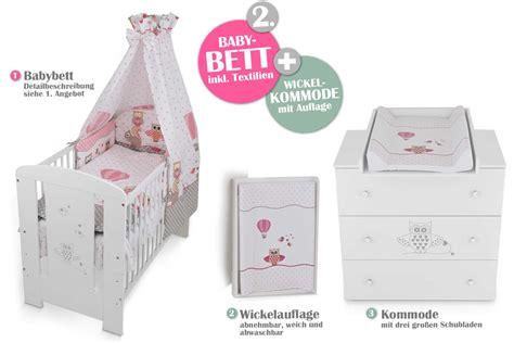 kommode eule babyzimmer eule rosa babybett kinderbett wickelkommode