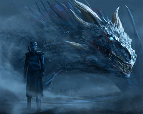 Wallpaper Game Of Thrones, Dragon, Artwork, Tv Series
