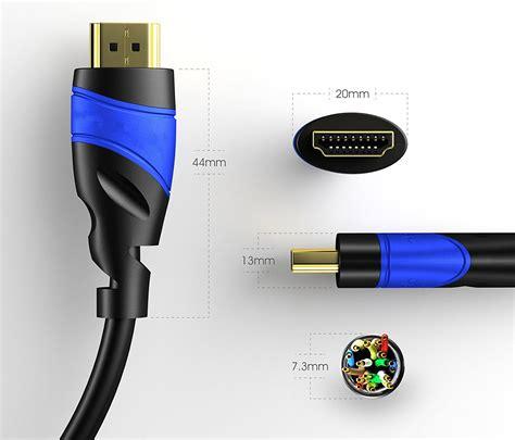 Hdmi Kabel 1 5m High Speed hdmi kabel premium 0 5m high speed hdmi 2 0a b tele