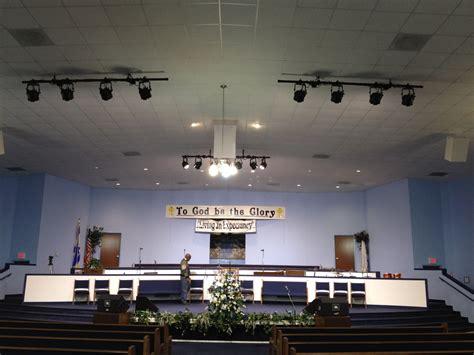 church stage lights