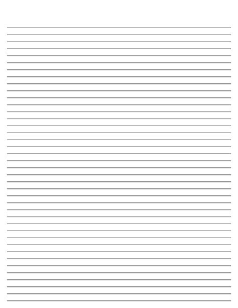 printable stationary template 9 best images of printable journal paper with lines free