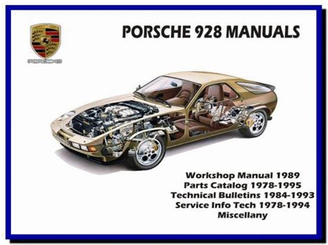 how to download repair manuals 1990 porsche 928 navigation system porsche 928 1978 1995 service manual wiring diagram parts manual