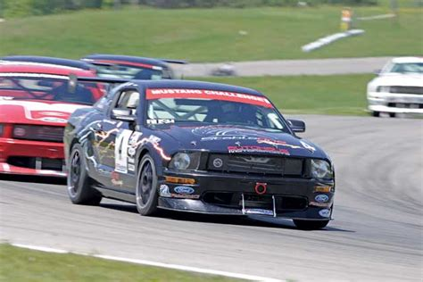 mustang challenge 2008 mustang challenge at mosport better than a necktie