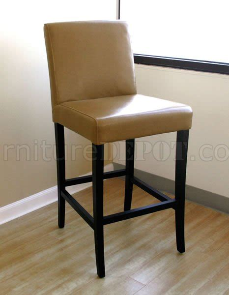 Light Brown Leather Bar Stools by Light Brown Leather Upholstery Bar Stool