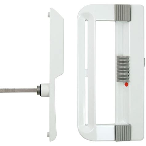 ideal security patio door handle set keyed white the