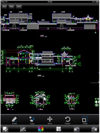 home design cad for ipad gstarsoft s first ipad release creates and edits cad