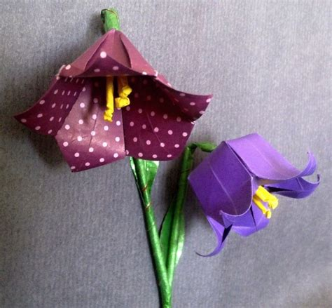 Different Origami Flowers - 1000 images about origami flowers on origami