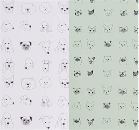 dog pattern wallpaper cat dog wallpaper design sponge