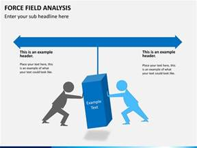 force field analysis powerpoint template sketchbubble