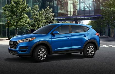 2019 Hyundai Colors by What Colors Does The 2019 Hyundai Tucson Come In