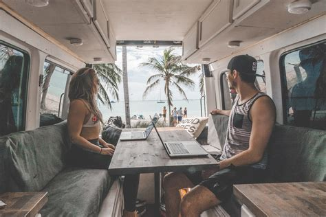 this family lives life in a van business insider 6 tips to start a business while living in a van