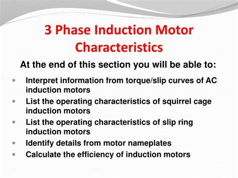 characteristics of induction motor ppt characteristics of induction motor ppt 28 images characteristics of induction motor ppt 28