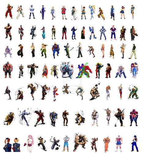 from street fighter main character name street fighter characters by reinfall on deviantart