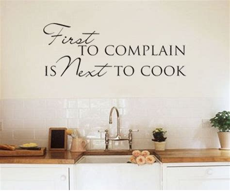 wall sticker decal kitchen dining room quote