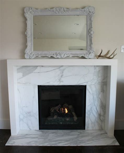 modern fireplace surround marble fireplace