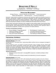 Resume Format For Supply Chain Management by Supply Chain Manager Resume Sle Resume Writing Service