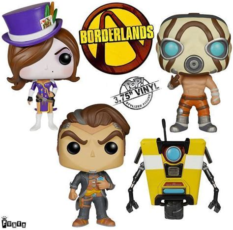 Pop Funko Borderlands Psycho bonecos funko pop do borderlands 171 de brinquedo