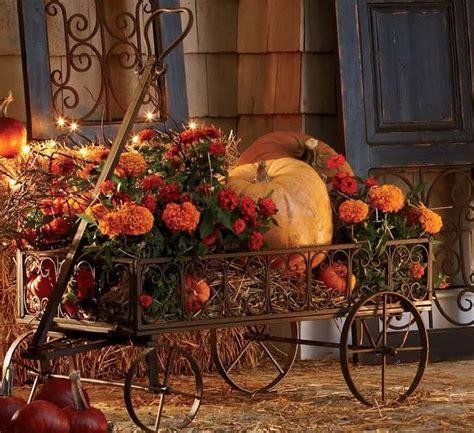 pumpkin displays fall decorating pin by krista on fall display