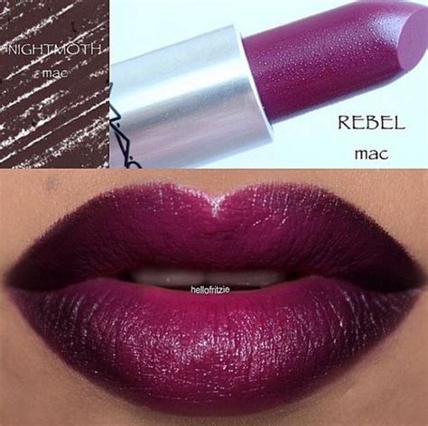 mac rebel lipstick mac rebel mac nightmoth and lipsticks on pinterest