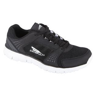 sears mens athletic shoes s ultralyte black athletic running shoe great style