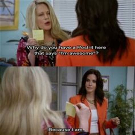 Cougar Town Memes - courteney cox dons cleavage baring mini dress at la