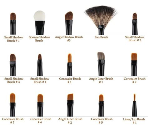 Kuas Make Up Of The Shine Fan Brush Kipas makeup brushes