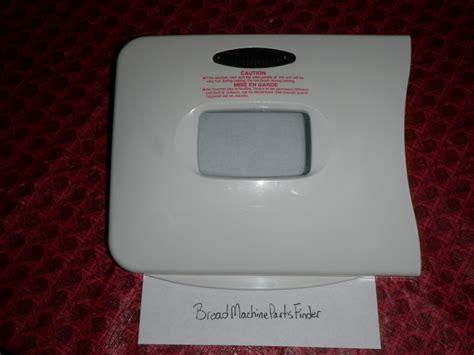 case housing regal kitchen pro k6745s bread machine no bread machine parts finder regal kitchen pro bread maker