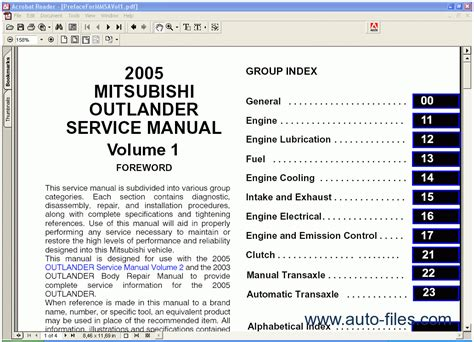 mitsubishi outlander 2007 service manual auto repair manual forum heavy equipment forums mitsubishi outlander 2005 repair manuals download wiring diagram electronic parts catalog