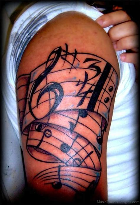 music sleeve tattoo designs 50 great tattoos on arm