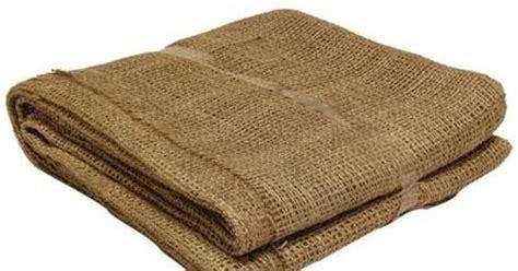 Landscape Fabric Pins Home Depot Easy Gardener 80 In X 80 In Burlap Landscape