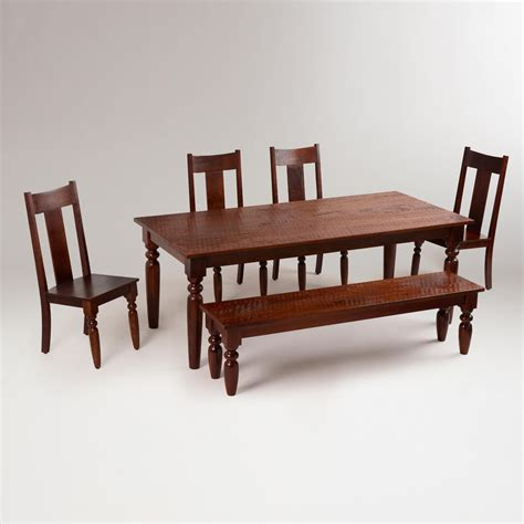 world market dining room table sourav dining collection world market