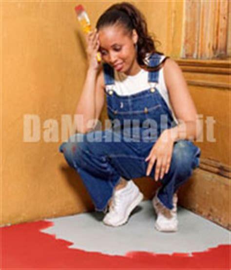 verniciare il pavimento come verniciare un pavimento