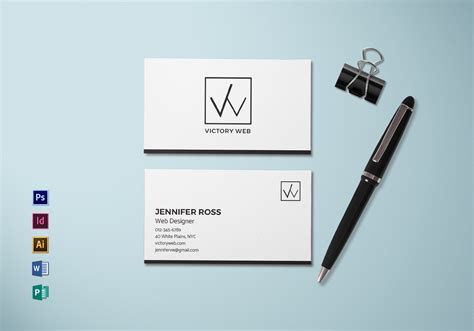 design cards template simple minimal business card template in psd word