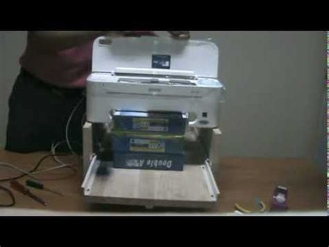 Printer Epson Me32 flatbed printer how to save money and do it yourself