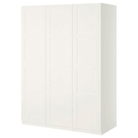 ikea wardrobe white pax wardrobe white bergsbo white 150x60x201 cm ikea