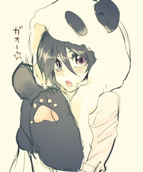 panda mangas panda hoodie anime anime