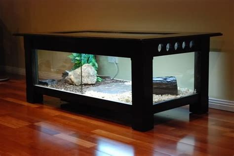 coffee table reptile terrarium coffee table enclosure aquariums vivariums paludariums