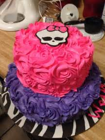 monster high cake birthdays pinterest