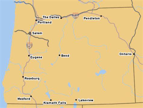 map of otis oregon oroads us route 320