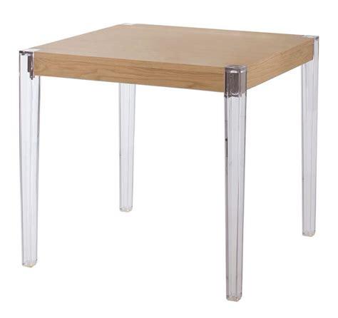 tavolo in policarbonato tavolo con gambe in policarbonato piano in legno idfdesign