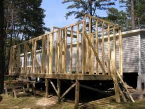 how to build a modular home mobile home additions guide footers roofing and