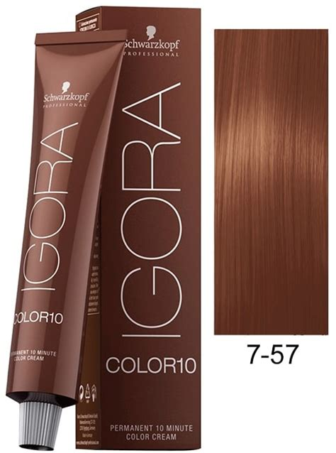 igoira hair color how to mix colors schwarzkopf igora color10 hair color 7 57 medium blonde gold