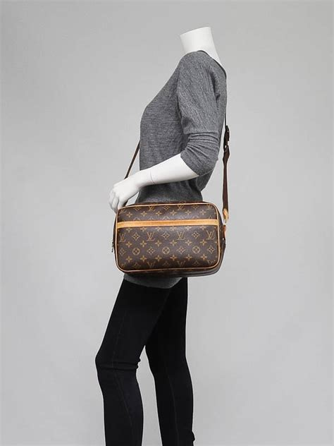 louis vuitton monogram canvas reporter pm bag yoogis closet