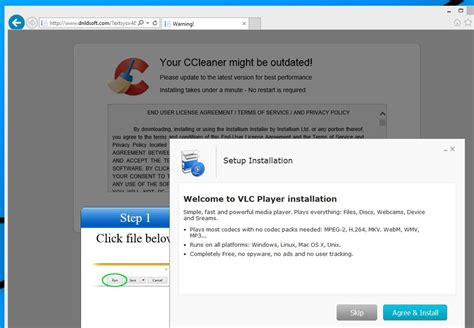 ccleaner ransomware remove quot your ccleaner might be outdated quot virus guide