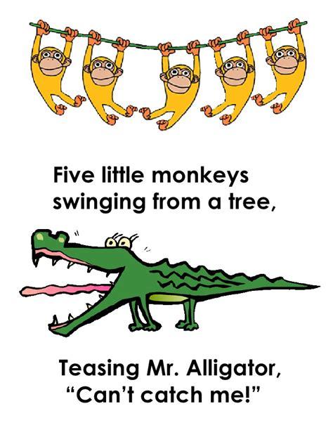 monkeys swinging in a tree song c users matt dobson desktop 5 little monkeys