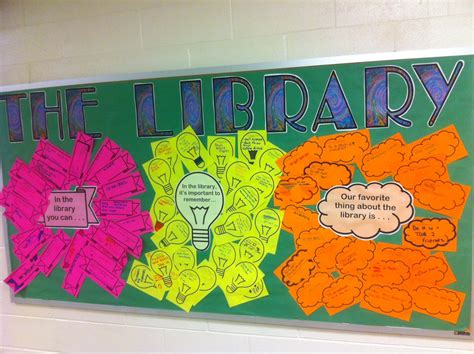Bulletin Board Ideas For Library - no shhing here september bulletin boards