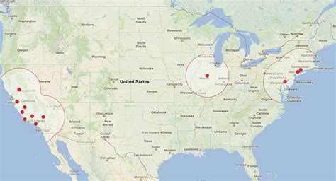 Tesla Supercharger Locations Tesla Supercharger Locations Illinois Get Free Image