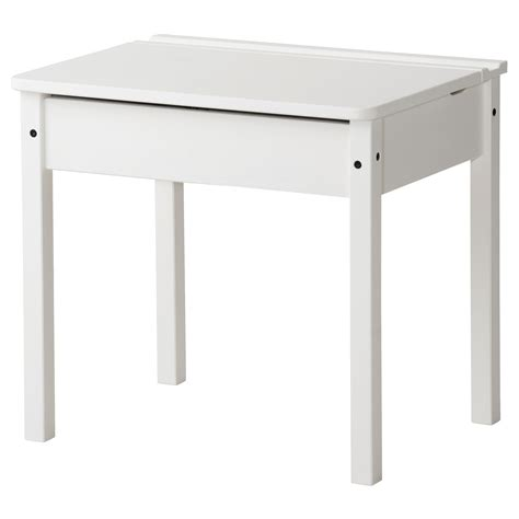 Sundvik Children S Desk White 58x45 Cm Ikea Desk Ikea White